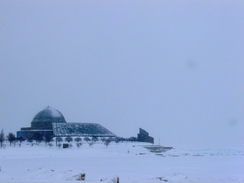 The Adler Planetarium in Chicago, Ill.
