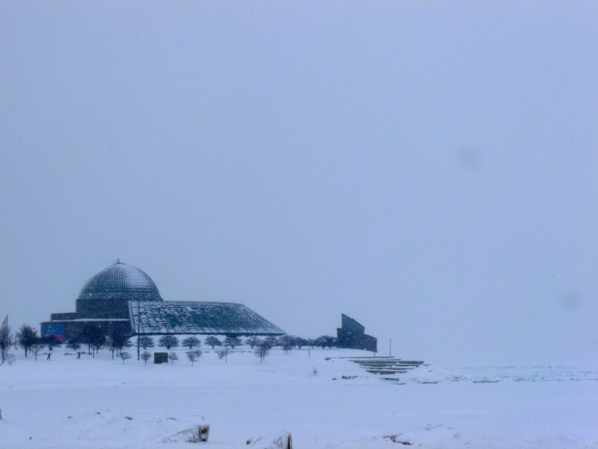 The Adler Planetarium in Chicago, Ill.